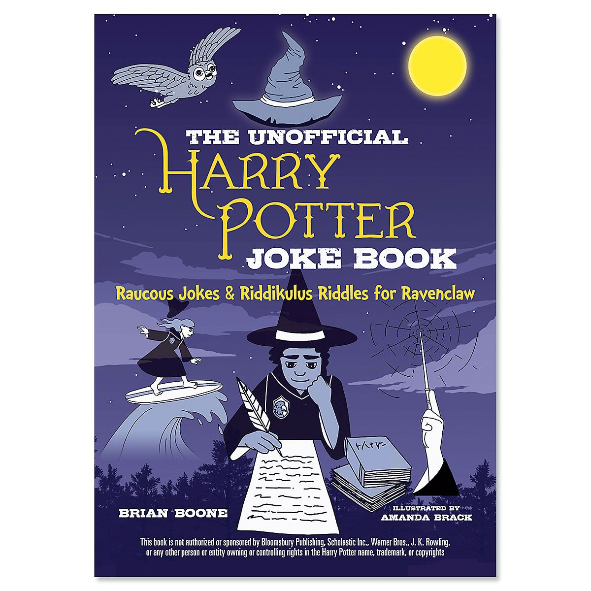 Ravenclaw Harry Potter Joke Book