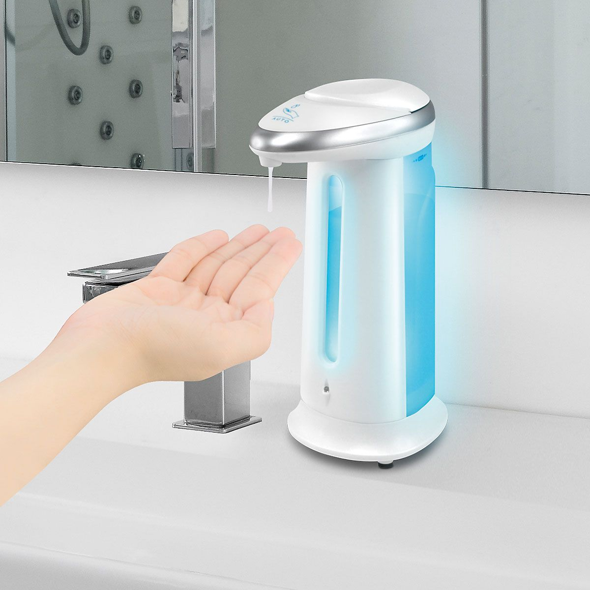 Hands-Free Soap Dispenser