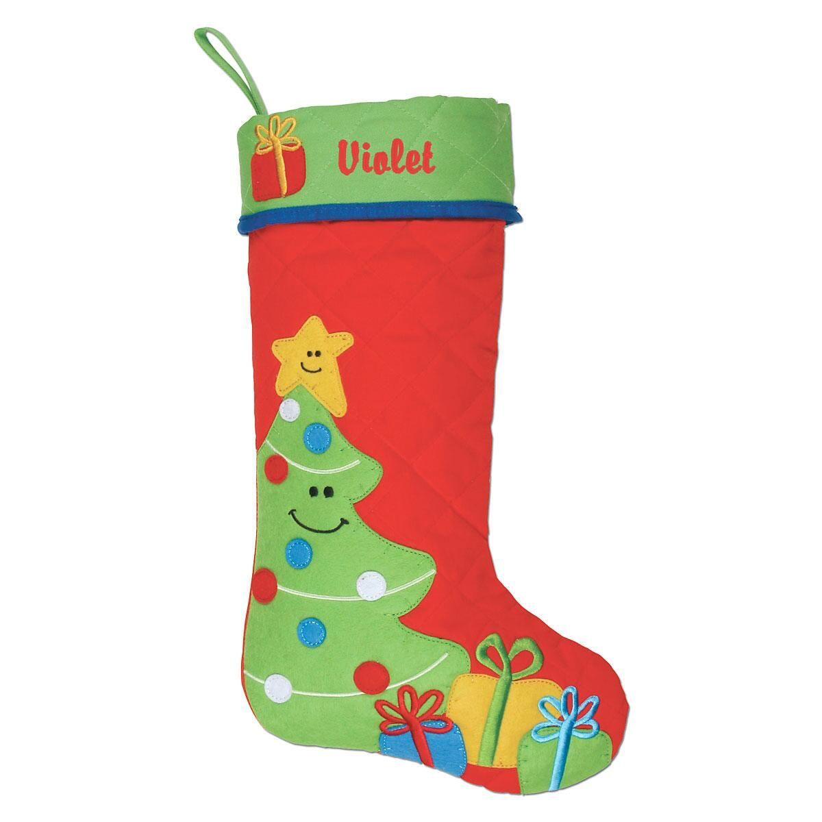 Personalized Christmas Tree Stocking by Stephen Joseph®