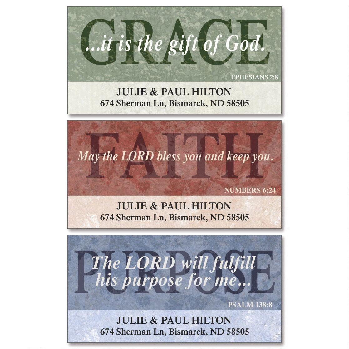 Purposeful Deluxe Address Labels  (3 Designs)
