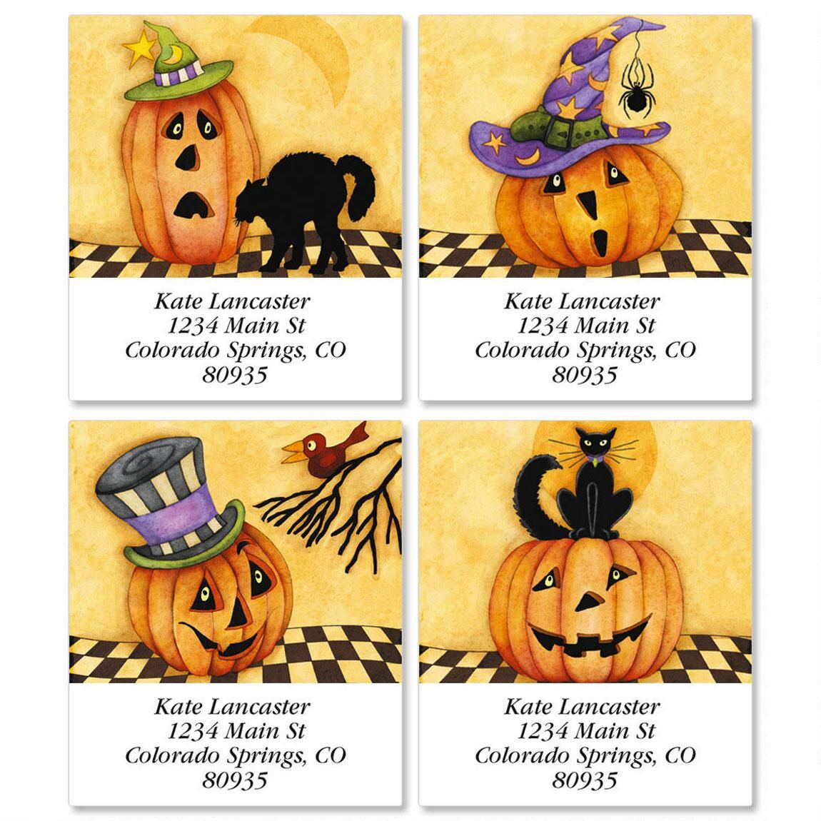 Jack And Friends Select Address Labels  (4 designs)