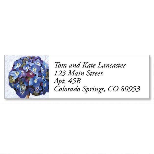 Mixed Florals Classic Address Labels  (6 Designs)