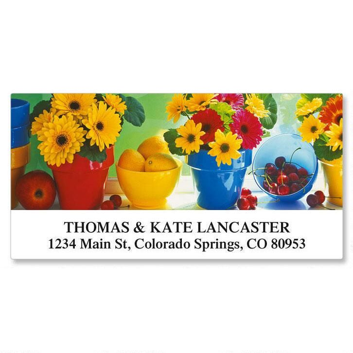 Kitchen Garden Deluxe Address Labels  (12 designs)