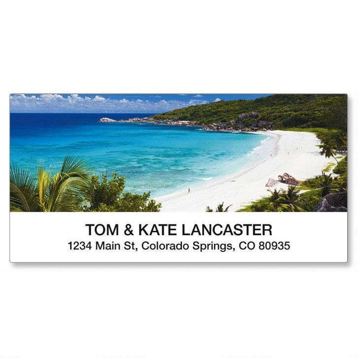 Tropical Paradise II Deluxe Address Labels  (8 Designs)