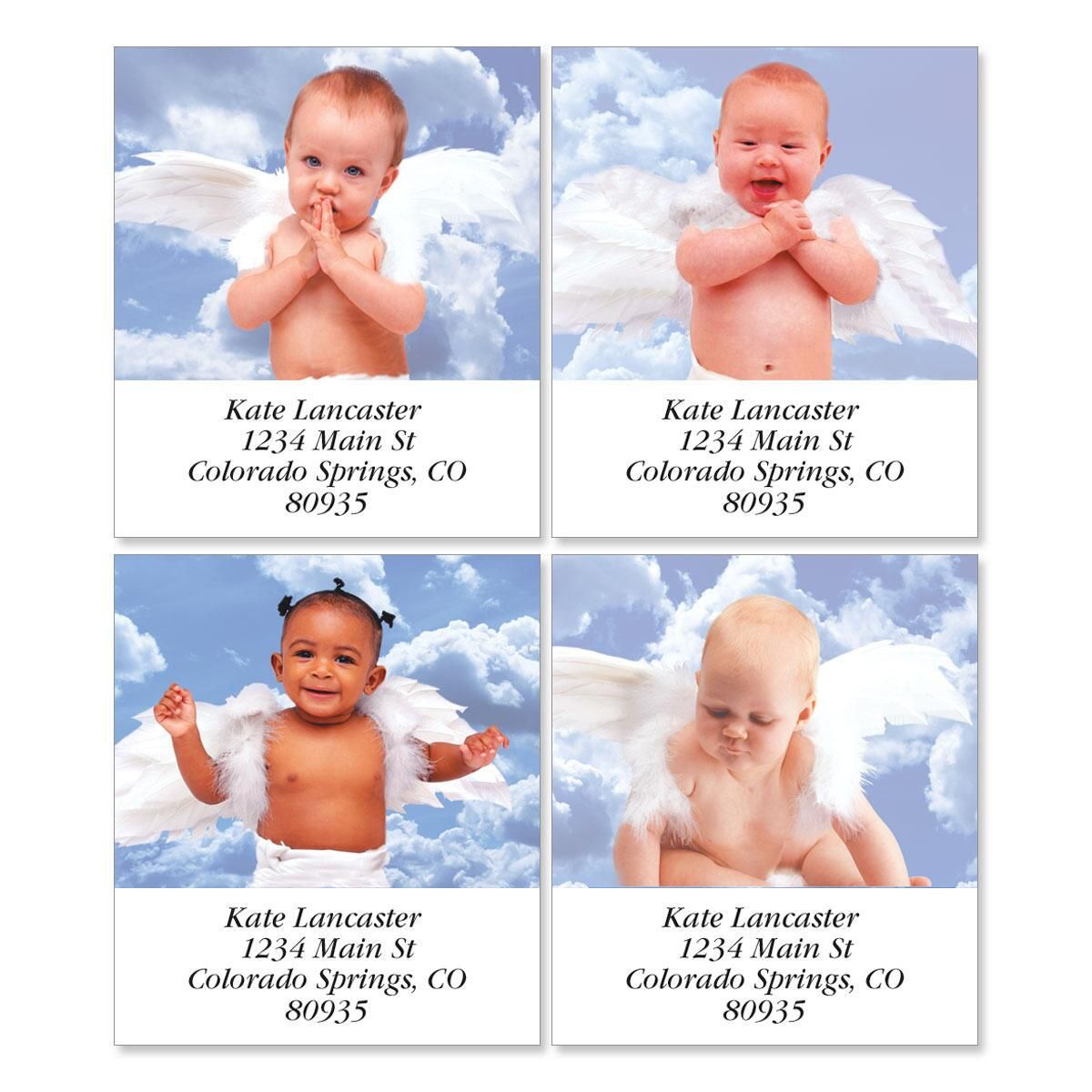 Good Heavens Select Address Labels  (4 designs)