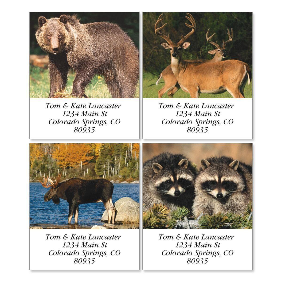 Wildlife II Select Address Labels  (4 designs)