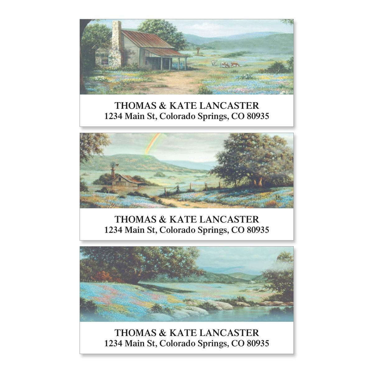 Serenity Deluxe Address Labels  (3 designs)