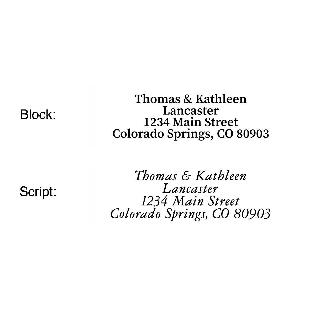 Nativity Scene Address Labels  (2 Designs)