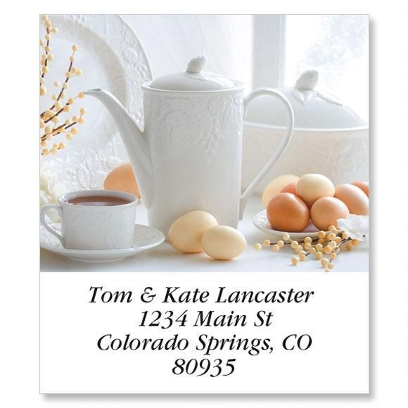 Happy Teapots Select Address Labels  (12 Designs)
