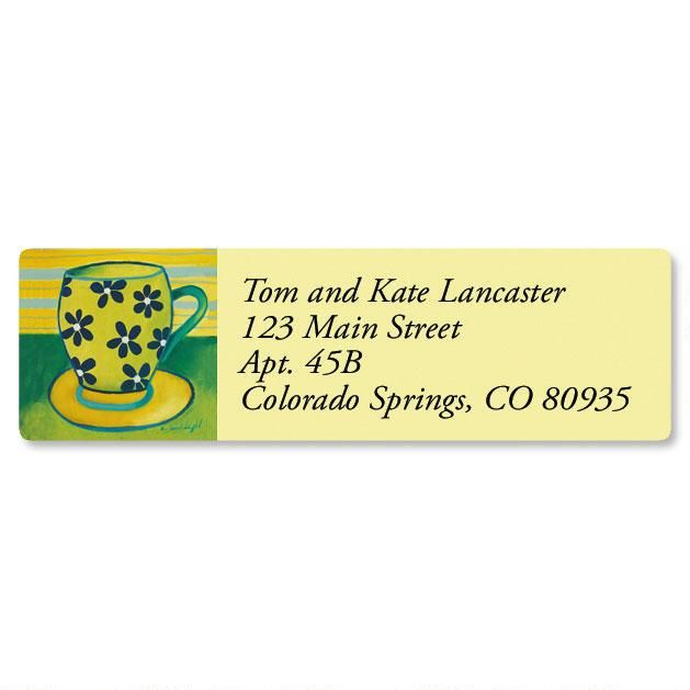 Coffee Break Classic Address Labels  (6 Designs)