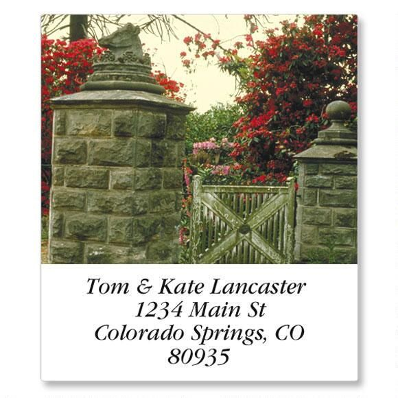 English Country Gardens Select Address Labels  (24 designs)