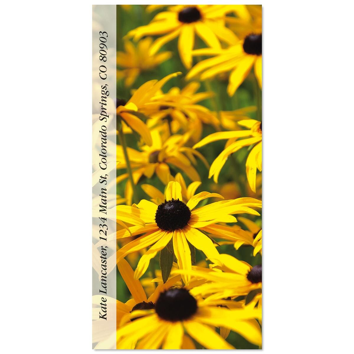 Wild Flora Oversized Address Labels  (10 Designs)