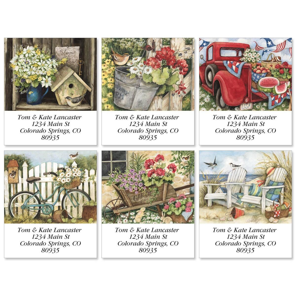 Simple Times Select Address Labels  (6 designs)