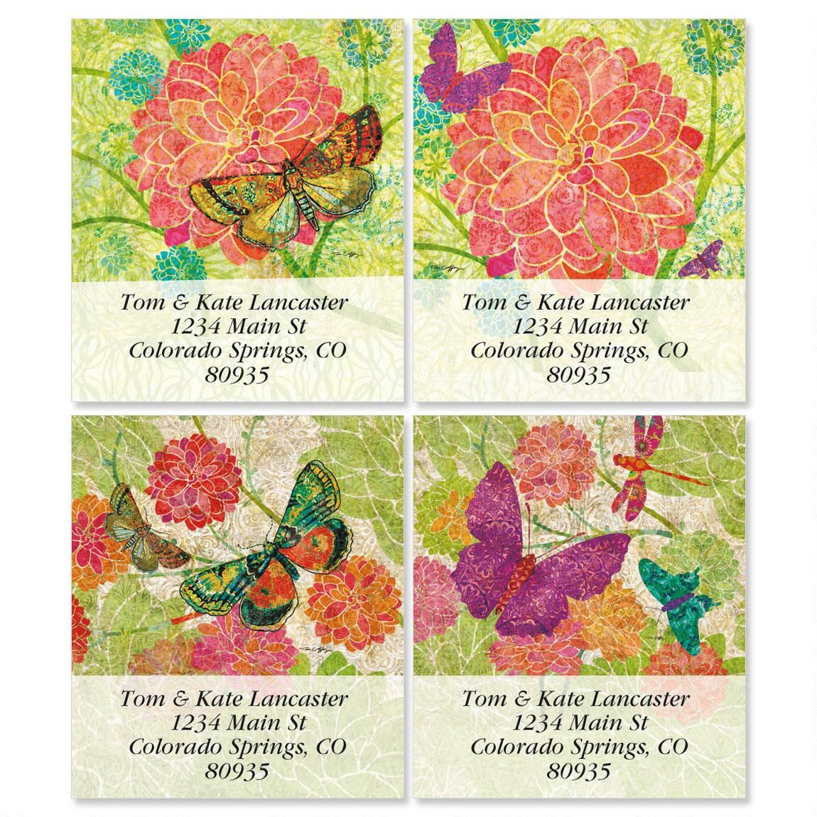 Colors Of Nature Select Address Labels  (4 designs)