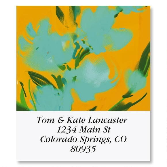 Loosen Up Select Address Labels  (6 Designs)