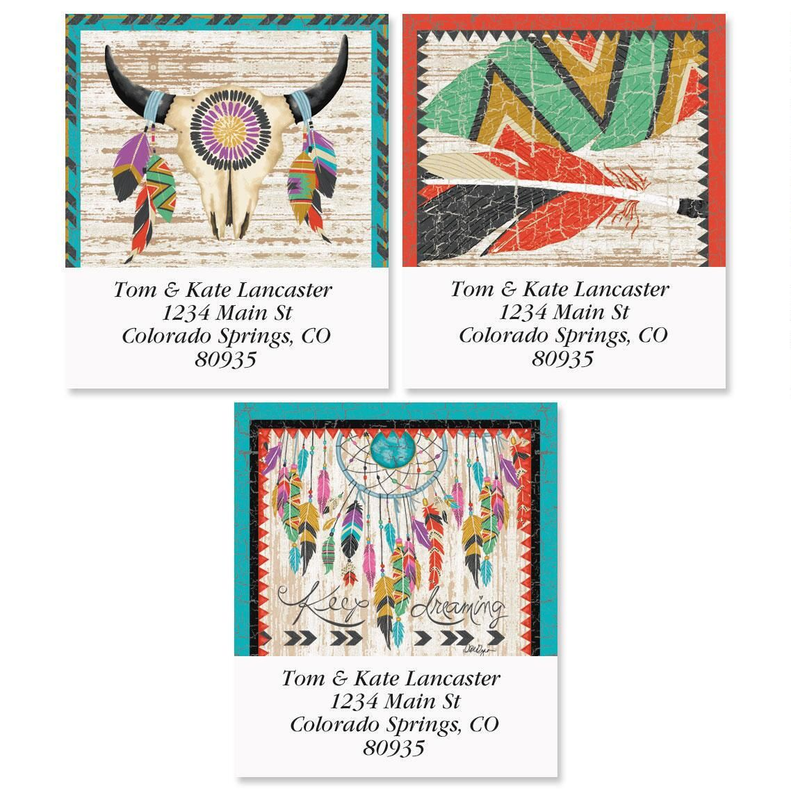 Southwest Love Select Address Labels  (3 Designs)