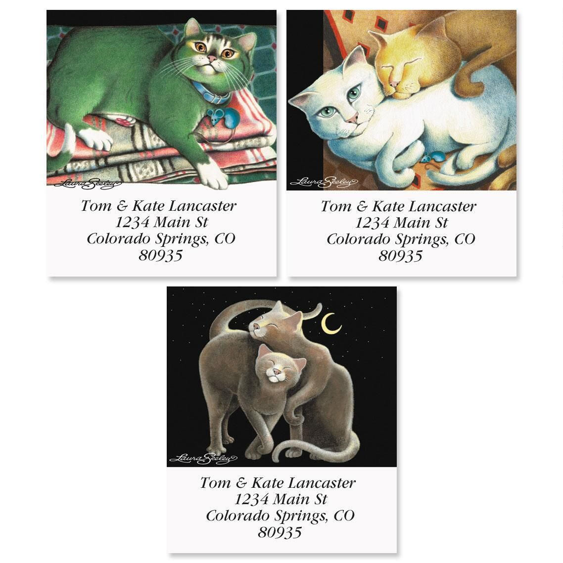 Comfort of Cats Select Address Labels  (3 Designs)