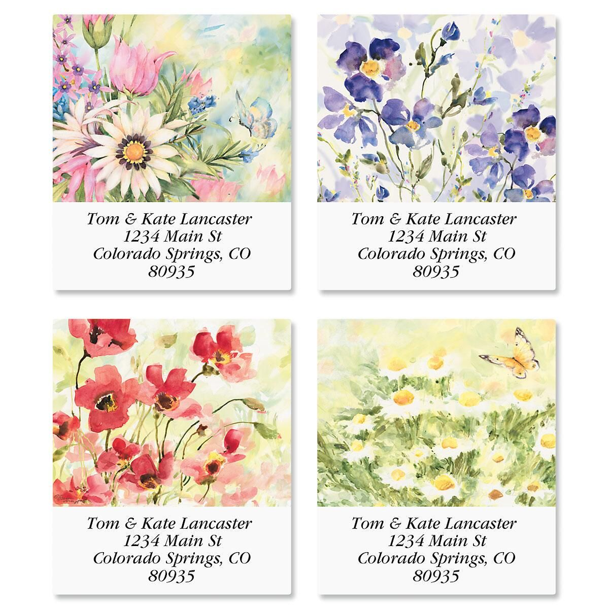 Nature's Grace Select Address Labels  (4 Designs)