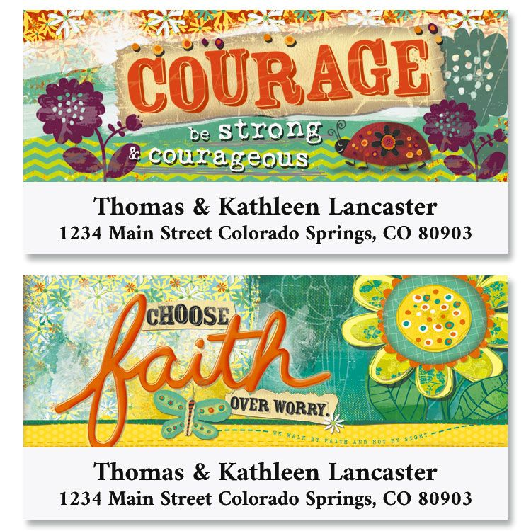 Choose Faith Deluxe Address Labels (2 Designs)