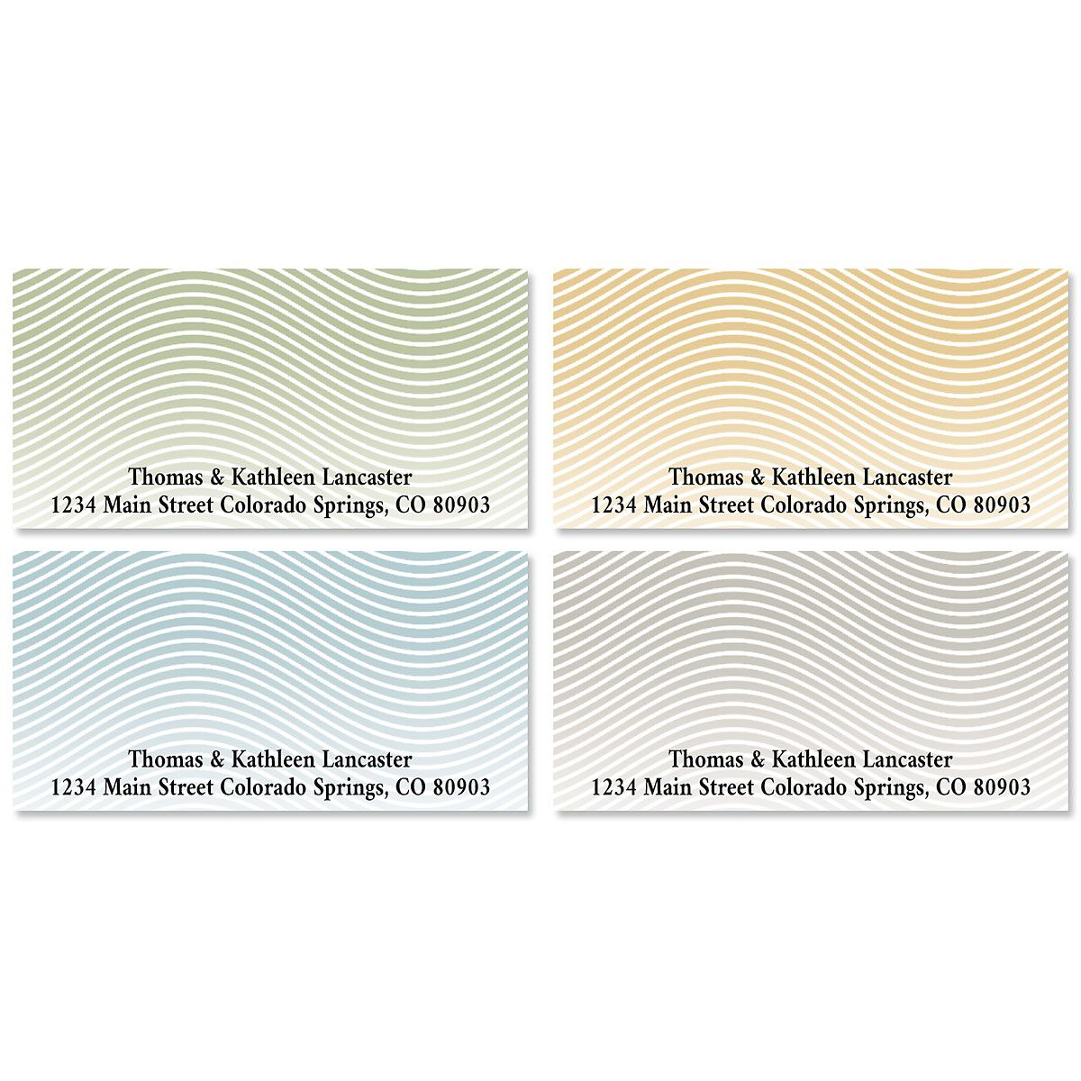 Neutral Deluxe Address Labels