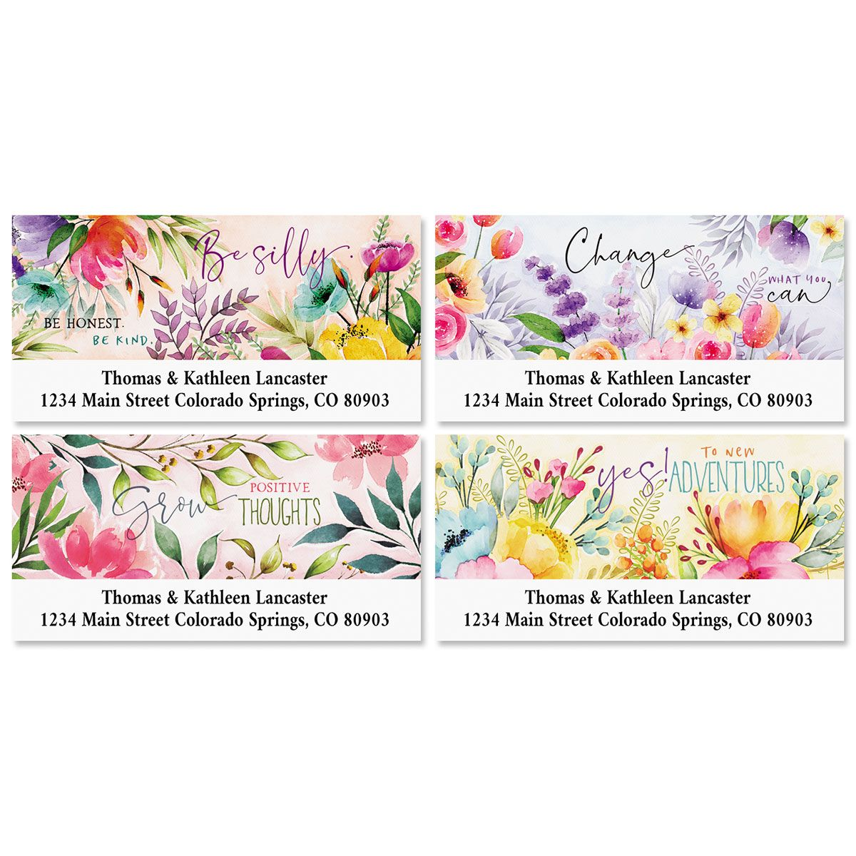Country Pleasures Deluxe Address Labels (4 Designs)