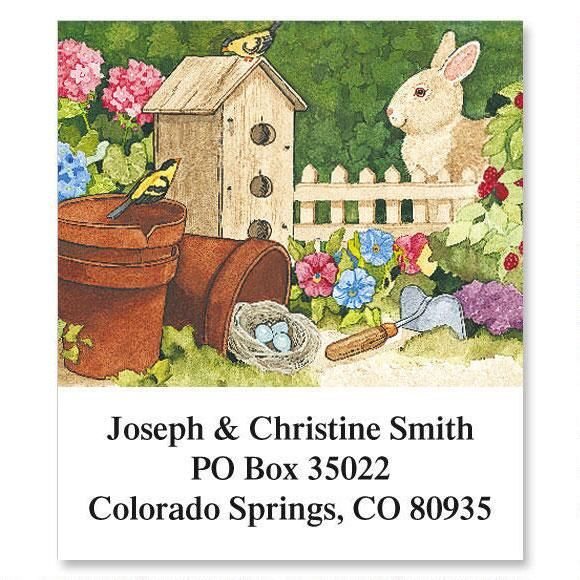 Sandi's Year Round Sampler Select Address Labels  (12 designs)