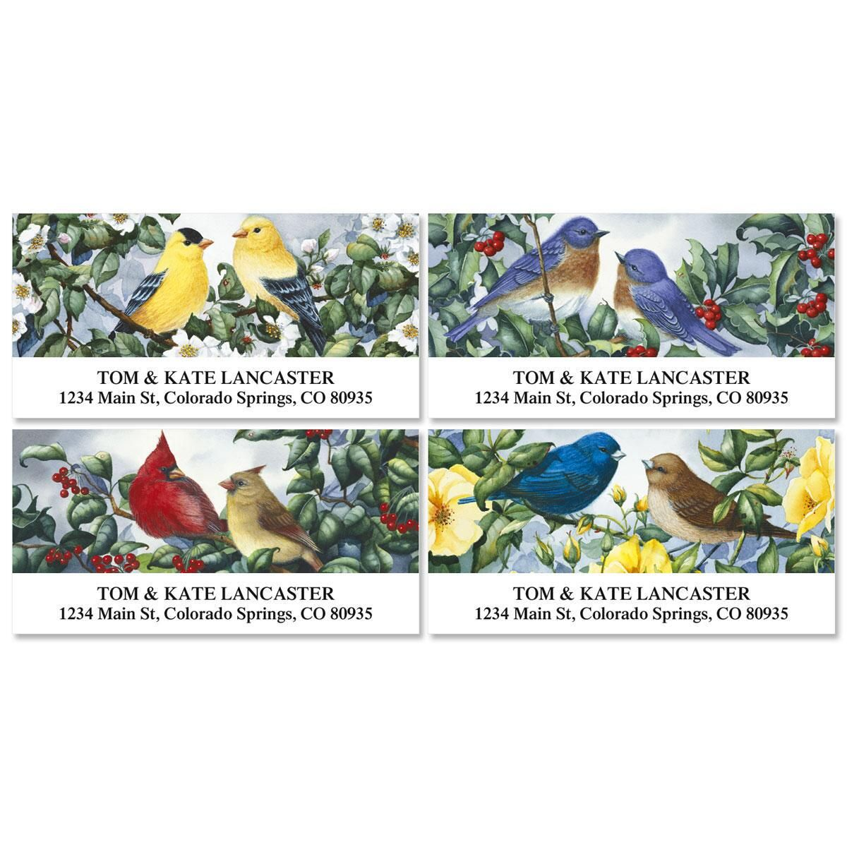 Garden Companions Address Labels  (4 designs)