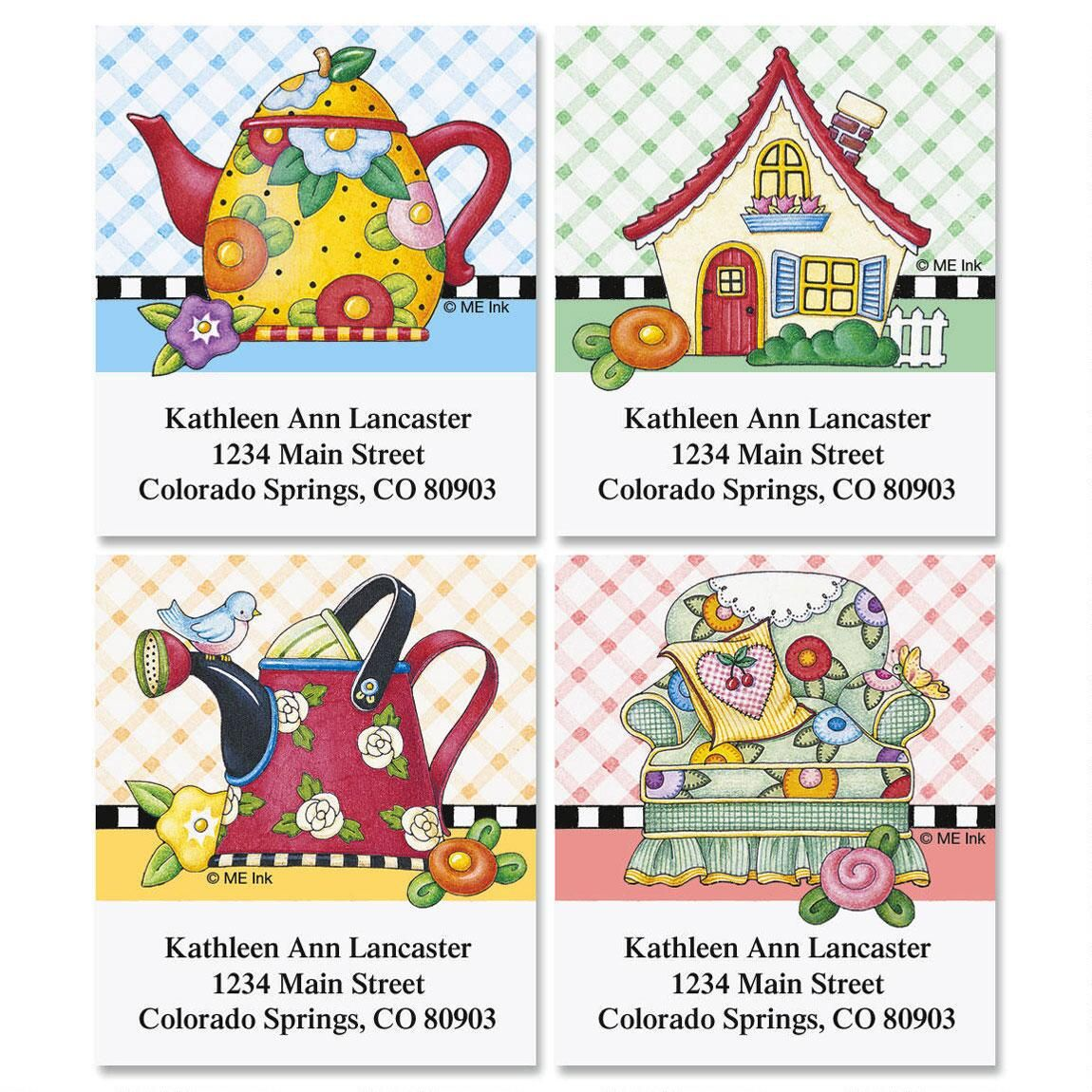 Mary's Classic Breits Select Address Labels  (4 Designs)