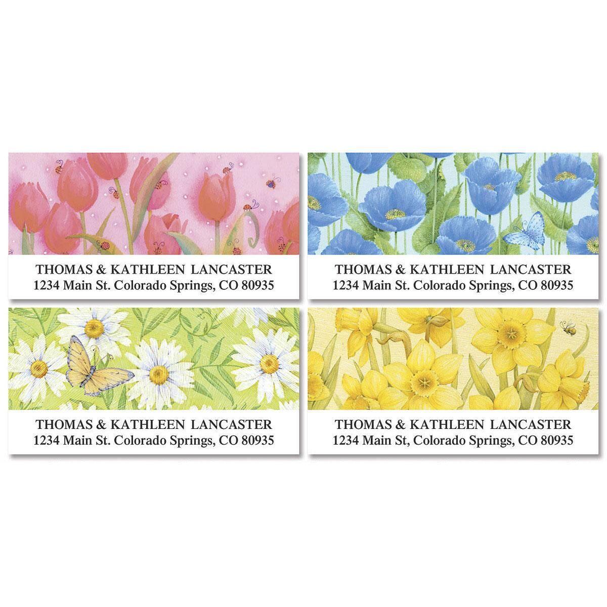 Springtime Delights Deluxe Address Labels  (4 designs)