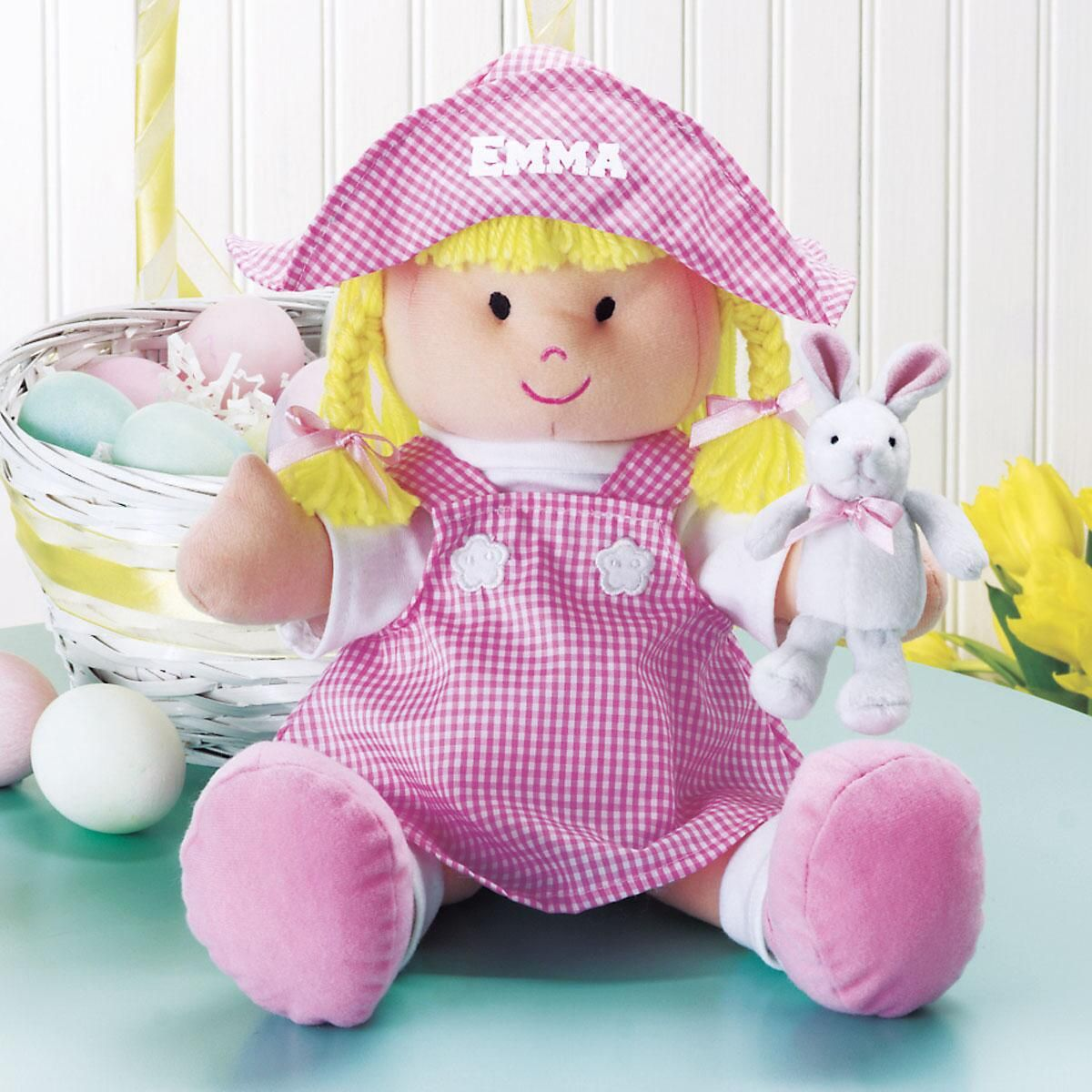 My First Easter Handmade Doll
