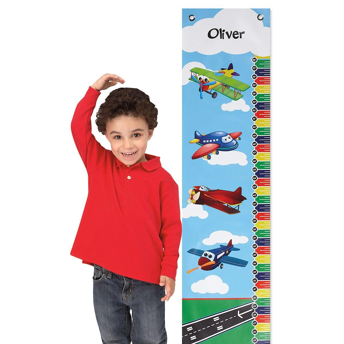 Airplane Canvas Growth Chart