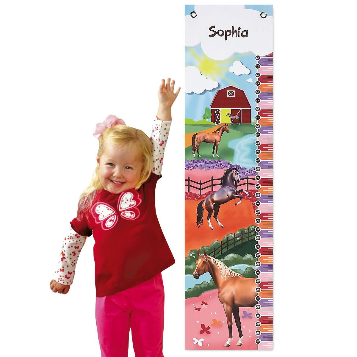 Horse Canvas Growth Chart