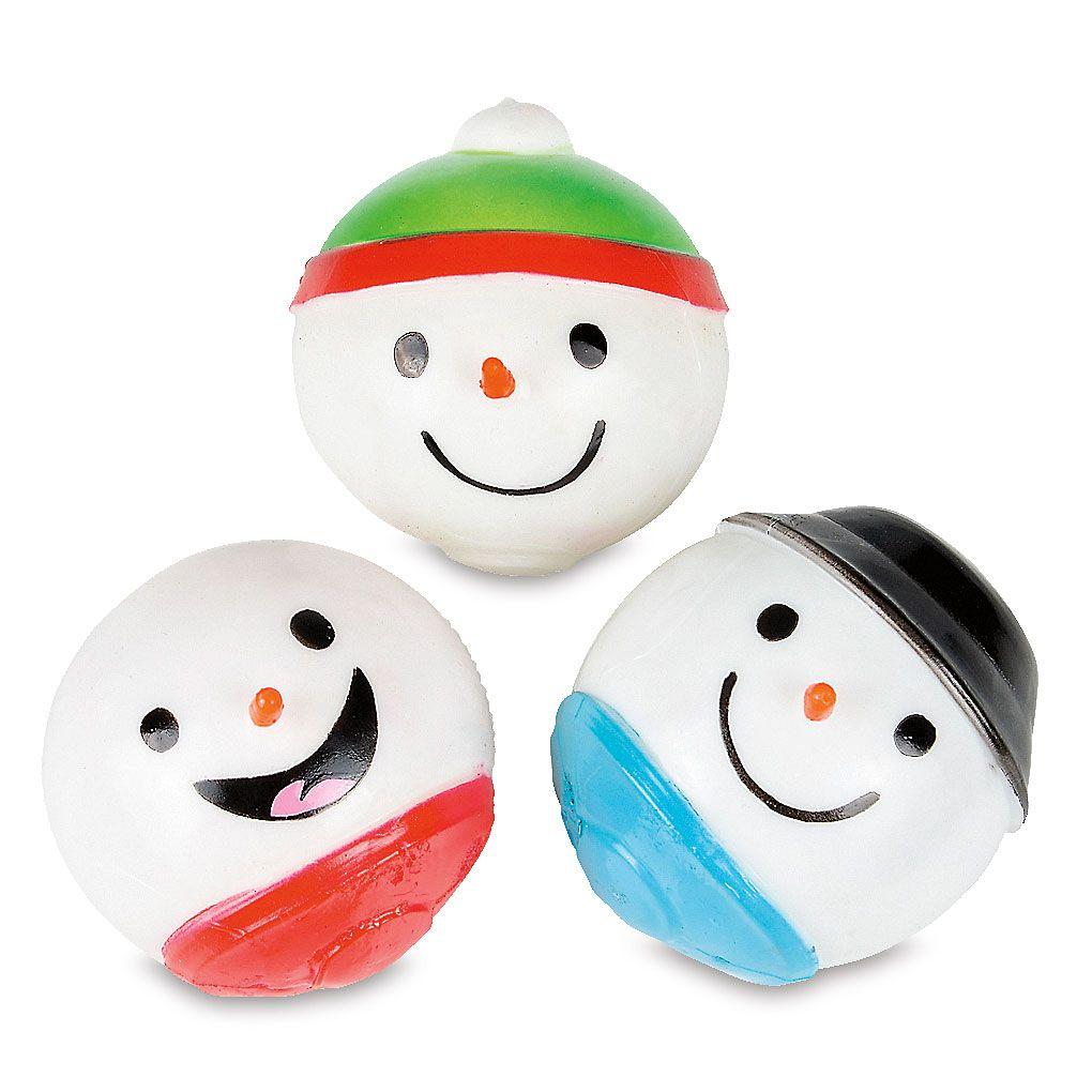 Sticky Splat Snowmen