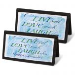Live, Love, Laugh  Checkbook Covers