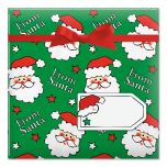 From Santa Holiday Jumbo Rolled Gift Wrap
