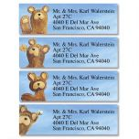 Bear Lodge Buddies  Classic Address Labels  (4 designs)