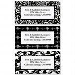 Black and White Address Label  (3 designs)