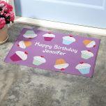Cupcake Kitchen Mat