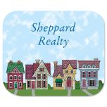 Houses Mousepad