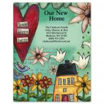 Love Lives Here Postcard