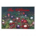 Ornaments & Pinecones Doormat