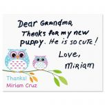 Owl Always Love You Thank You Cards