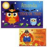Owls Autumn Kids' Placemats