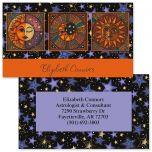 Sun & Moon Double-Sided Business Cards
