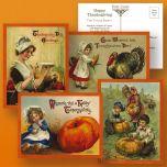 Victorian Thanksgiving Postcard