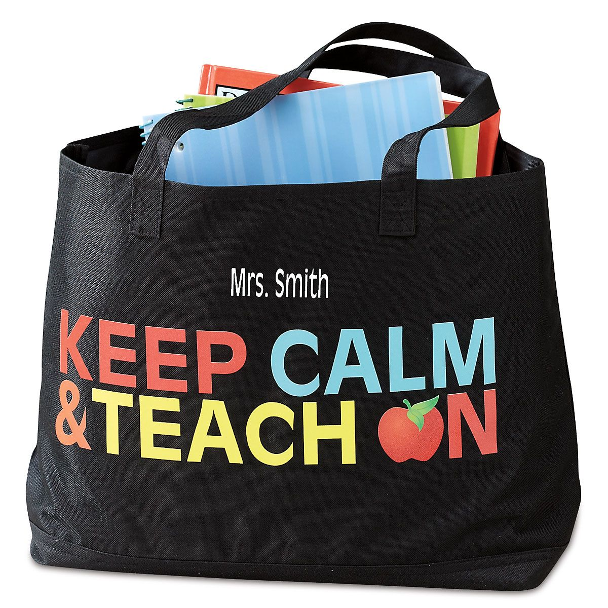 Personalized Teacher Tote