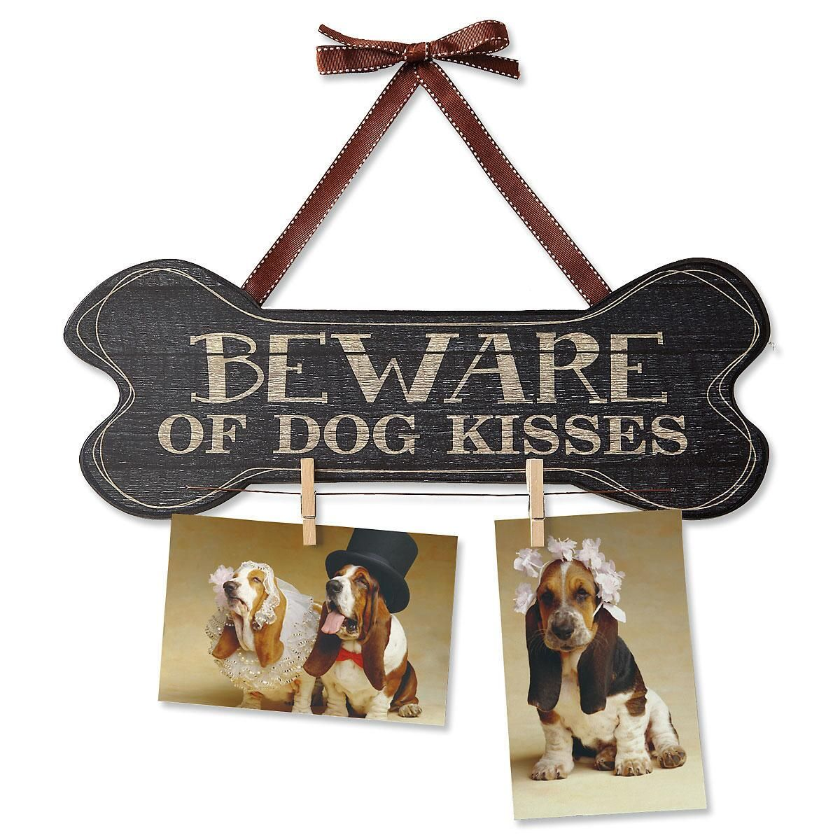 Beware of Dog Kisses Sign