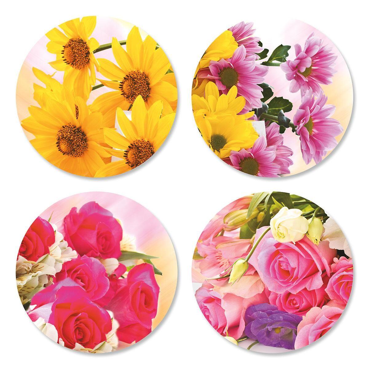 Bouquet Envelope Sticker Seals