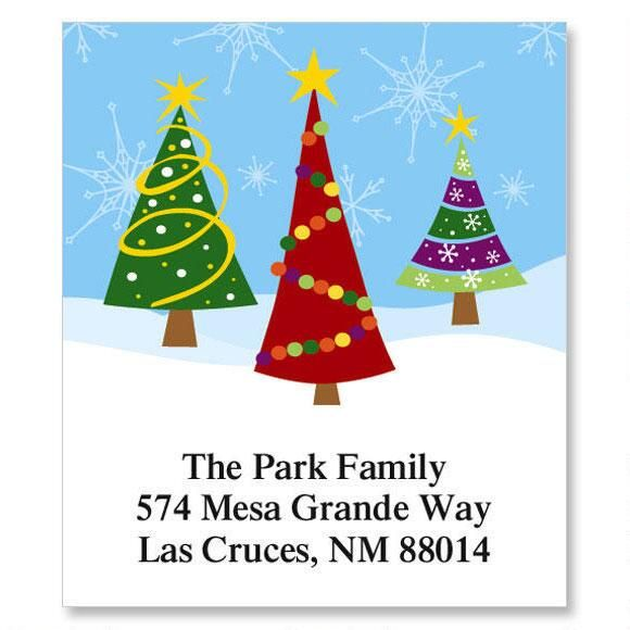 Family Trees Select Address Labels