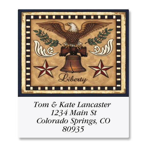 Liberty! Select Address Labels  (6 Designs)